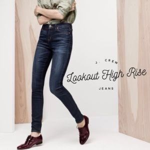 JCrew Lookout Highrise Skinny Jeans sz 28 ( b4)
